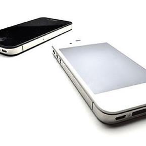 iPhone白と黒