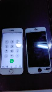 アイフォン6 液晶