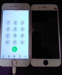 iphone6s画面修理完了