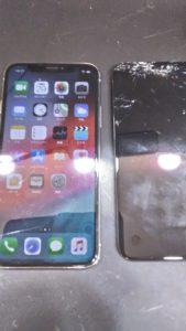 アイフォン10画面修理