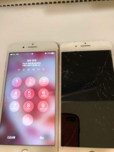 アイフォン7プラス画面交換