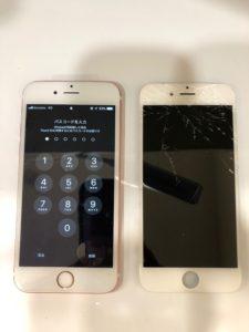 iphone6S画面交換